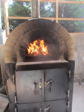 ピザ窯作り52
