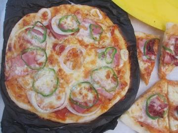 ピザ窯作り55