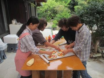 ピザ焼き講習9