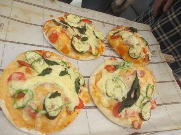 ピザ焼き講習13