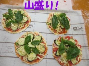ピザ焼き講習15