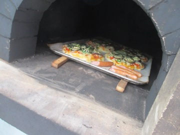 ピザ焼き講習18