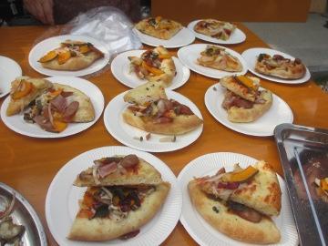 ピザパーティー女性部9