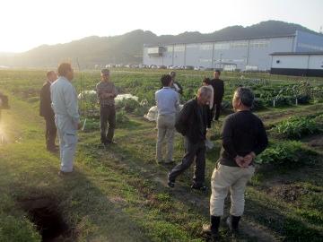 農園視察10