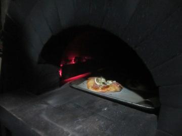 ピザ焼きの工夫