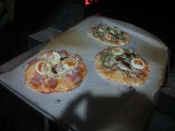 ピザ焼きの工夫2