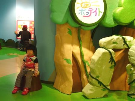 Pちゃん NHKスタジオパークにて 6