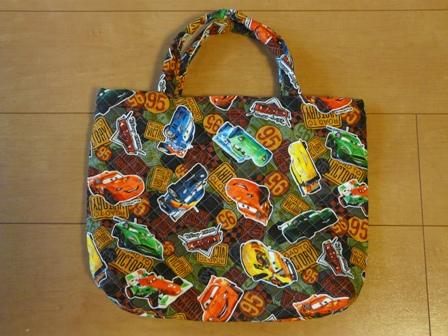 カーズ柄のバッグ 1