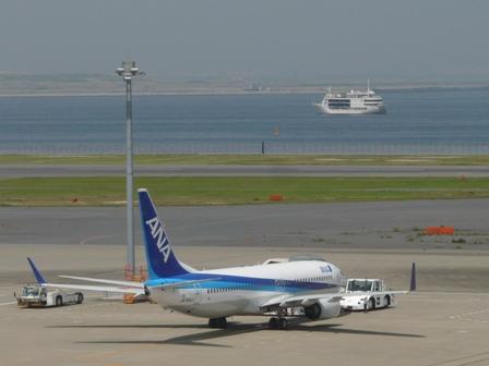 羽田空港第二ターミナル 展望デッキにて 2
