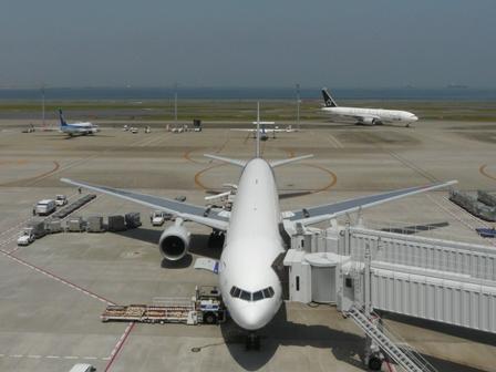 羽田空港第二ターミナル 展望デッキにて 4