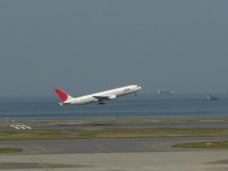羽田空港第二ターミナル 展望デッキにて 9