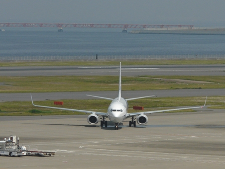 羽田空港第二ターミナル 展望デッキにて 11