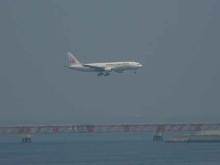 羽田空港第二ターミナル 展望デッキにて 13