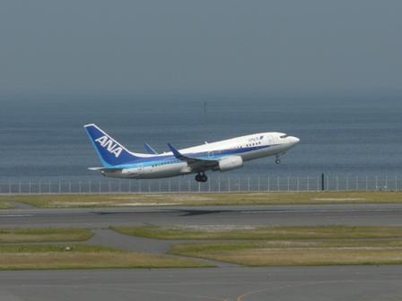 羽田空港第二ターミナル 展望デッキにて 15