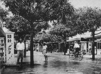 1920年代のパラオの町並み