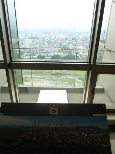群馬県庁展望室