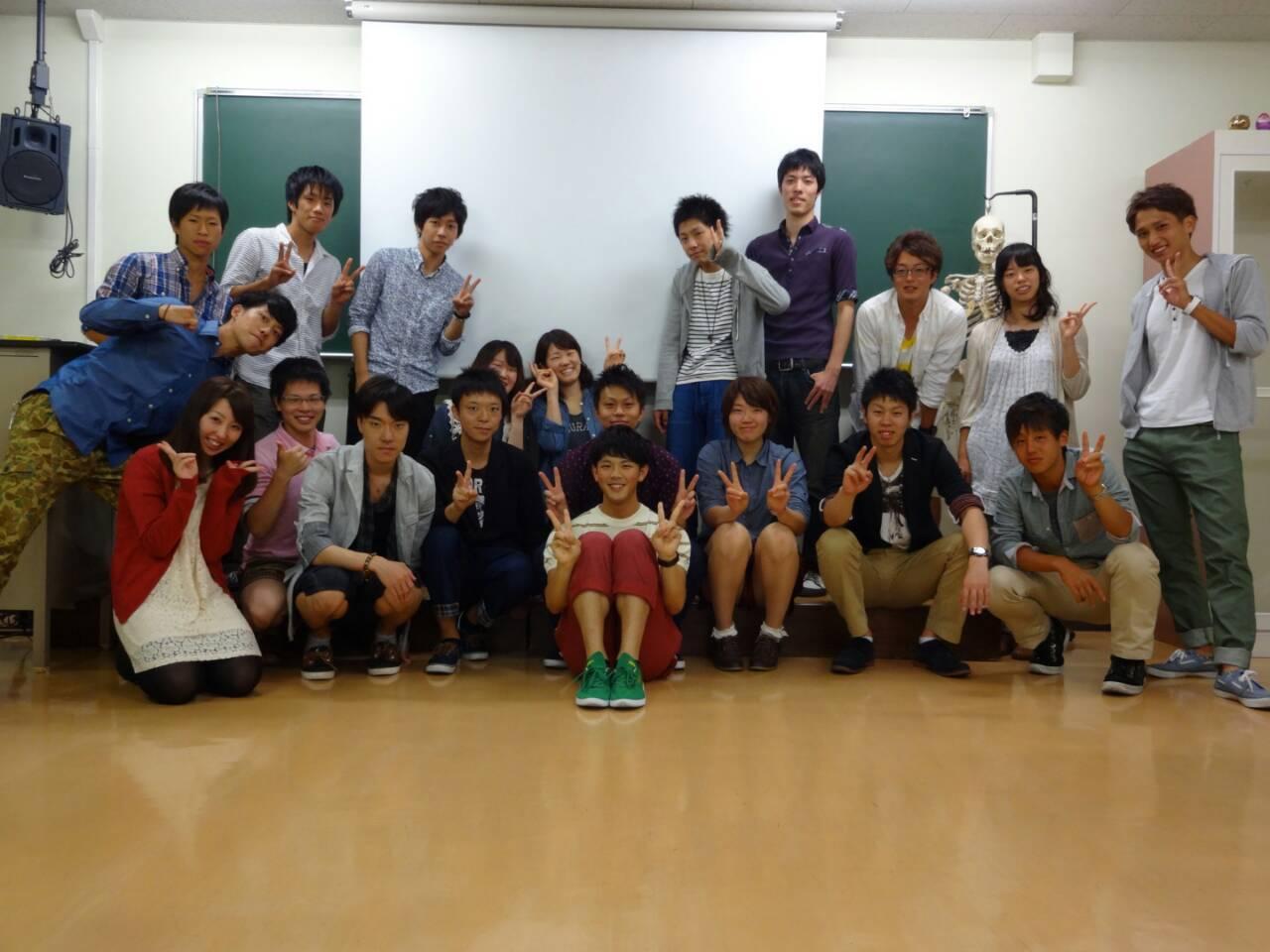 説明会後の集合写真(^^)