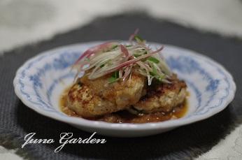 ハンバーグポン酢風味の豆腐