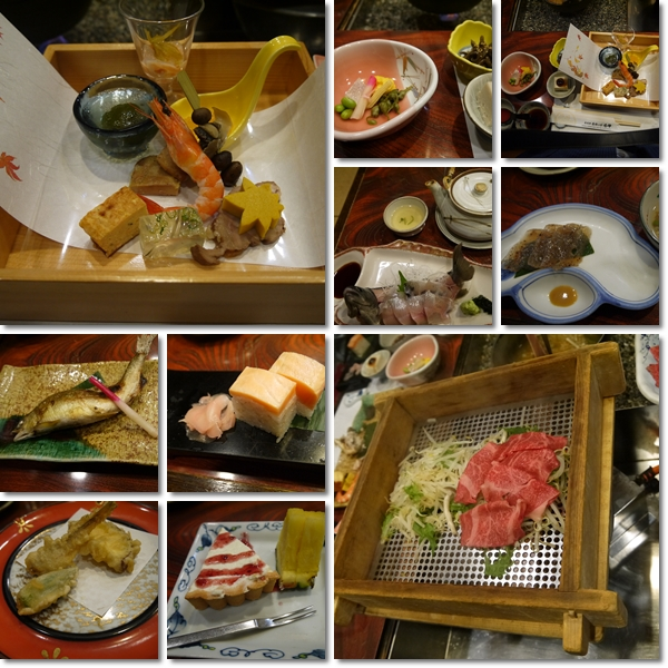旅館の夕飯