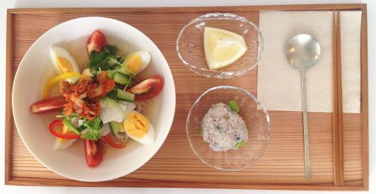 水キムチの冷麺-2013-7