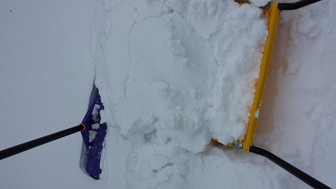 雪掻き20140206_095033