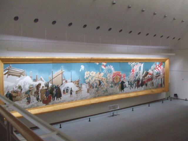 平野政吉美術館の内部