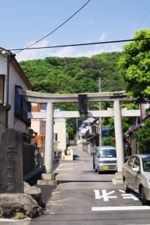 二宮・吾妻神社一の鳥居