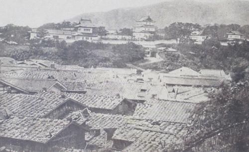 松前城古写真