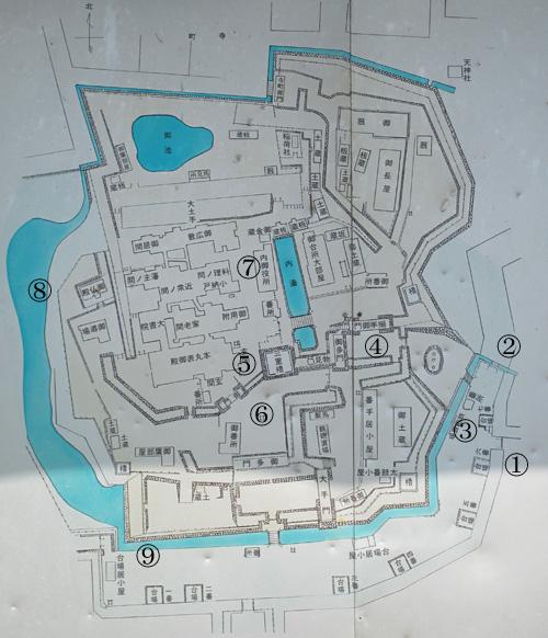 松前城地図