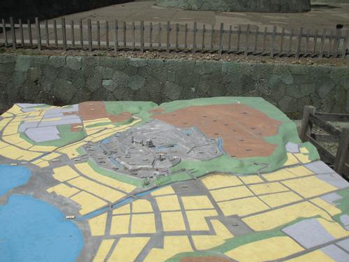 松前城模型