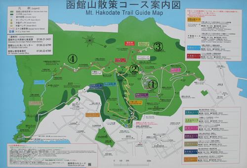 函館要塞地図1