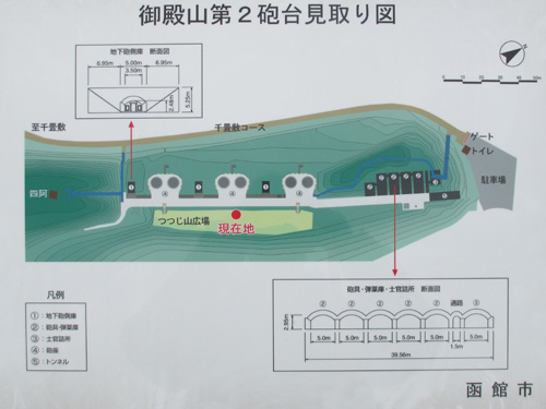 函館要塞地図2-1