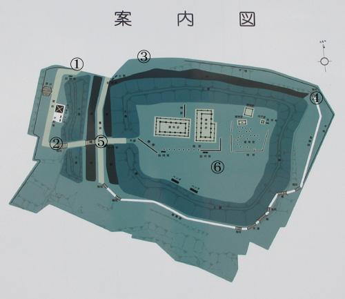 志苔館地図