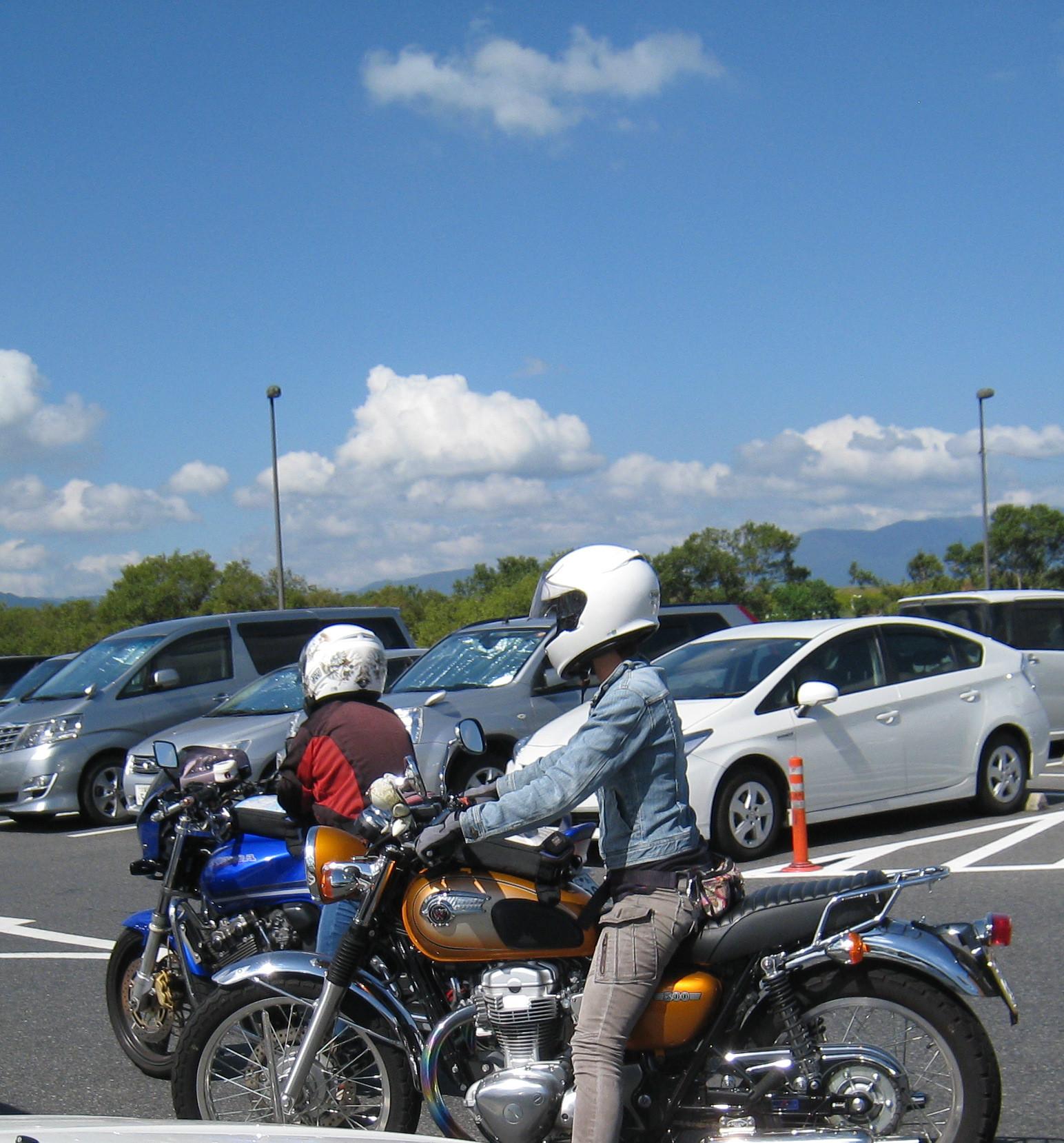 道の駅草津ライダー (2)