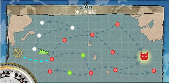 2-4 沖ノ島海域マップ