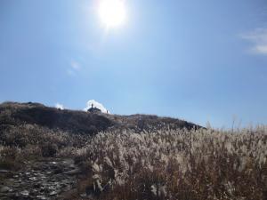 硫黄山へ1