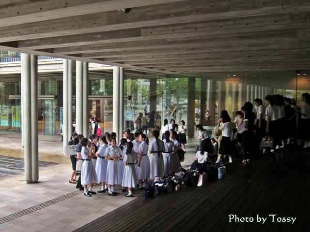 合唱部 兵庫県立芸術文化センターにて