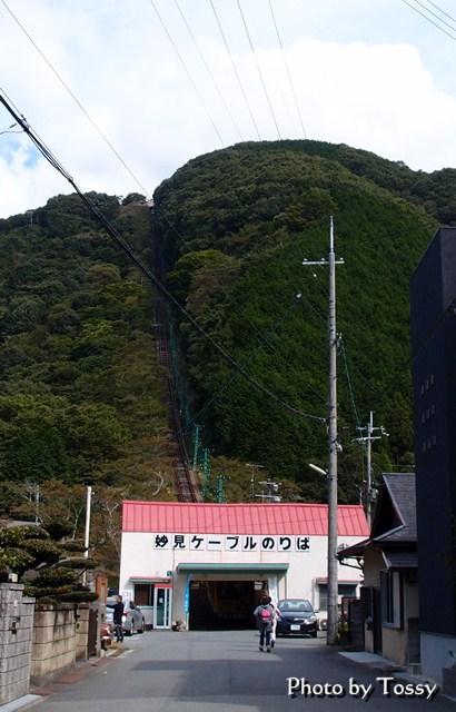 妙見ケーブル駅