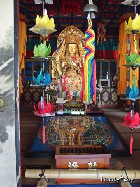 弥勒菩薩 チベット砂曼荼羅