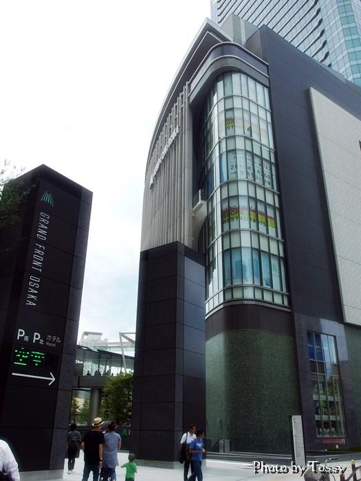 グランフロント大阪 入り口