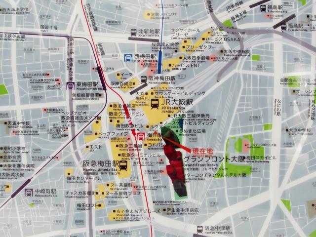 ウメキタ map