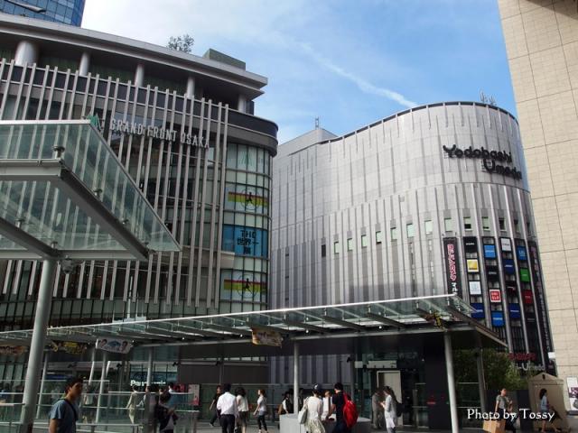 グランフロント大阪南館とヨドバシ梅田