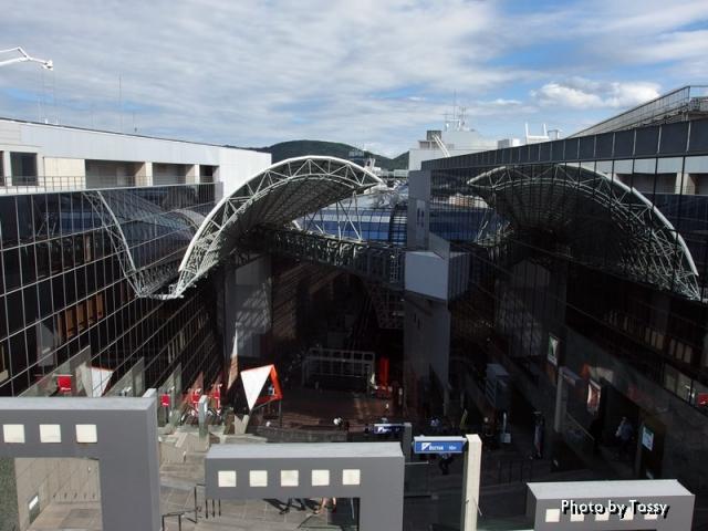 京都駅 階段見下ろし