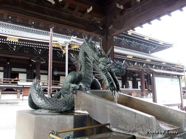 東本願寺 竜頭