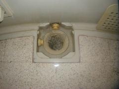 浴室排水管 清掃(前)