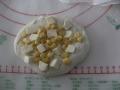 いちじくとくるみのプチカンパーニュ・チーズとコーンのリュスティック 手順2