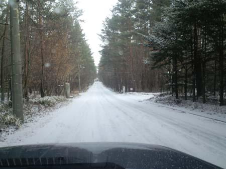 H25.11.13路面積雪