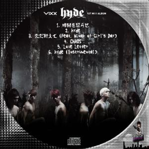 Vixx 1st Mini Album - hyde (韓国盤)