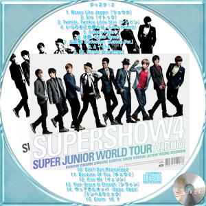 Super Junior The 4th World Tour Super Show 4 (3CD) -2