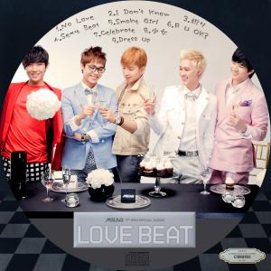 MBLAQ Special Album - Love Beat (韓国盤)
